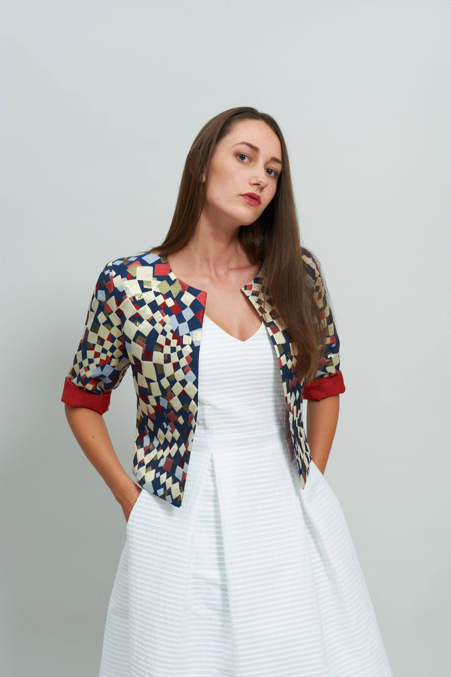 LOOK 14 Beautiful Jacket Brocade Boutique Alsamendi